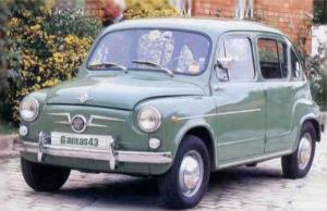 Seat 800 1966 (el del estárter)