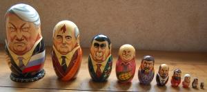 Los muñecos rusos. Tenemos suerte, ellos tienen 10...