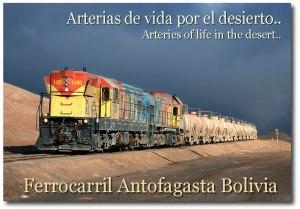 Antofagasta a Bolivia